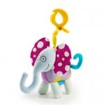 Taftoys Busy Elephant ของเล่นติดรถเข็น