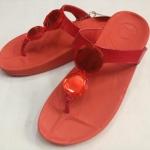 รองเท้า Fitflob Luna Orange เพชร 2 เม็ด สีส้ม No.FF082