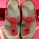 รองเท้า Fitflob New  หูหนีบ เข็มขัด รุ่นใหม่  รัดส้น สีส้ม No.FF183