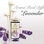"""LAVENDER"" Aroma Reed Diffuser น้ำมันหอมระเหย ลาเวนเดอร์"