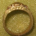 แหวนมอญปูหนีบทรัพย์หลวงปู่นิ่ม วัดพุทธมงคล(หนองปรือ)สุพรรณบุรี