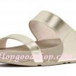 รองเท้า Fitflob Lulu สวม สีทอง No.FF294