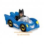 Little People DC Super Friends Batmobile (Bat Man) นำเข้าจากอเมริกา Fisher-Price (พร้อมส่ง)