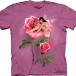 Pre.เสื้อยืดพิมพ์ลาย3D The Mountain T-shirt : In Bloom MD