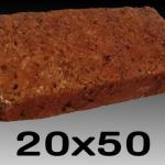 หินศิลาแลงเหลี่ยม ขนาด 20x50 ซม.