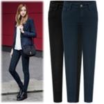 Pre-Order กางเกงยีนส์ผู้หญิง ขายาว กางเกงทรงขาเดฟ สำหรับสาวอวบ เอว 29 - 41 นิ้ว Big size