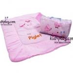 ผ้าห่ม Pooh Series น่ารักน่าใช้ ลิขสิทธิ์แท้ : piglet