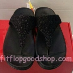 รองเท้า Fitflob New หูหนีบ รุ่นใหม่ สีดำ No.FF340