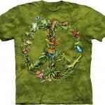 Pre.เสื้อยืดพิมพ์ลาย3D The Mountain T-shirt : Rainforest Peace