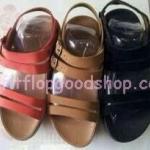 รองเท้า Fitflop  รุ่นใหม่ สี่สาย รัดส้น สีดำ , สีน้ำตาล , สีแดง No.FF344