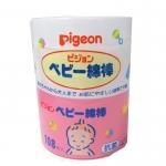 พีเจ้น Pigeon สำลีก้านสำหรับเด็ก ชนิดกล่อง 108 ก้าน