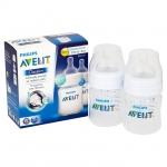 Avent Classic+ ขวดนมเอเวนท์ รุ่นคลาสสิคพลัส ขนาด 4 ออนซ์ แพคสอง BPA Free