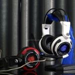 SIGNO E-Sport HP-816 MONOCEROS 7.1 Surround Sound Vibration Gaming Headphone (มีไฟLED)