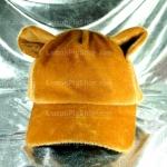 หมวก Bear หูหมี ขนสัตว์นุ่มๆ สีน้ำตาล