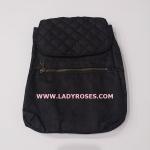 กระเป๋าเป้ นารายา ผ้าเดนิม สียีนส์ดำ (กระเป๋านารายา กระเป๋าผ้า NaRaYa กระเป๋าแฟชั่น)
