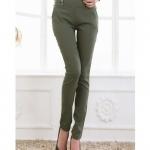 Pre order กางเกงทำงาน กางเกงลำลอง กางเกงแฟชั่นเกาหลี BIG SIZE สีฟ้า-เขียว