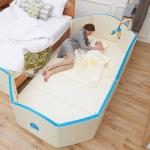 New Creamhaus GRAND Castle คอกกั้นเด็ก คอกเบาะ 7 ฟังก์ชั่น ใช้เป็นเบาะรองคลาน กั้นเตียง PLAYMAT ใช้เป็นบ่อบอล และโซฟาได้