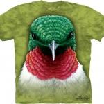 Pre.เสื้อยืดพิมพ์ลาย3D The Mountain T-shirt : Hummingbird