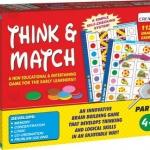 Think & Math II จะเน้นเป็นการสังเกตุรูปทรงสัญลักษณ์ในเชิงที่ซับซ้อนขึ้น เหมาะสำหรับเด็กอายุ 4 - 7 ปี