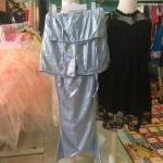 ชุดนางเงือก สีฟ้า