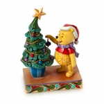 Z Winnie the Pooh ''Trim the Tree with Me'' Figure by Jim Shore