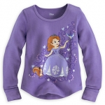 Sofia Long Sleeve Thermal Tee for Girls (12-18month)