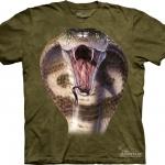 Pre.เสื้อยืดพิมพ์ลาย3D The Mountain T-shirt : Cobra