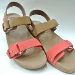 รองเท้า Fitflob Via Bar Tan สีน้ำตาล/ส้ม No.FF129