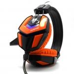 NUBWO หูฟัง รุ่น ZYBORG NO-4000 ส้ม/ดำ