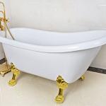 [TYPE A] อ่างอาบน้ำวินเทจ ขนาด1.2-1.7เมตร อ่างอาบน้ำอะคริลิค อ่างอะคริลิค ตกแต่งห้องน้ำ แต่งบ้านสไตล์วินเทจ Acrylic Vintage Bathtub
