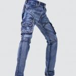 Pre-Order กางเกงยีนส์ ขายาว ขาตรง สีบลูยีนส์ ยีนส์ฟอก กางเกงแนวผจญภัย หนุ่มขาลุย หนุ่มมาดเข้ม มาดแมนตัวจริง แฟชั่นกางเกงยีนส์