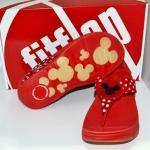 รองเท้า Fitflob Mickey Red มิกกี้เมาส์ สีแดง No. FF094
