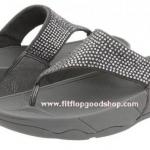รองเท้า Fitflob Rokkit Silver เพชรกระจาย สีบอรนด์เงิน  No.FF110
