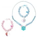 z Anna and Elsa Necklace and Bracelet Set - Frozen from Disney USA แท้100% นำเข้าจากอเมริกา