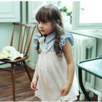 เสื้อเด็กผู้หญิง เสื้อตัวยาว Phelfish