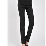 (Pre-Order) กางเกงทำงานยีนส์สี กางเกงลำลอง ทรงขากระบอกตรง สีดำ