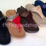 รองเท้า Fitflop Rockchic เพชรเม็ดเล็ก รุ่นใหม่ สีดำ , สีแดง , สีน้ำตาล , สีครีม , สีน้ำเงิน No.FF334