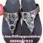 รองเท้า Fitflob Lucia Bronze เพชร 5 เม็ด สีน้ำตาล No.FF067
