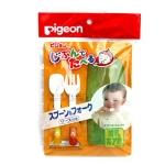 พีเจ้น Pigeon ชุดช้อนส้อมฝึกรับประทานอาหาร