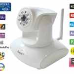 EasyN new H4-147V p2p ip camera HD 1 megapixel เสียงชัดเเจ๋ว