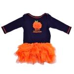 บอดี้สูทกระโปรงเด็กหญิงแขนยาว แรกเกิด - 12 เดือน