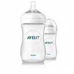 ขวดนม เอเวนท์ รุ่นใหม่ ล่าสุด AVENT Natural พร้อมจุก รุ่นใหม่ ขนาด 260 ml หรือ 9 ออนซ์ pack 2 ขายดีมากในอังกฤษ ราคาถูก มากค่ะ BPA Free
