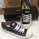 รองเท้าผ้าใบ Converse หนัง สีดำ