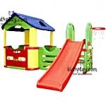 playground ชุดสนามเด็กเล่นชุดใหญ่ เปลี่ยนได้หลายแบบ