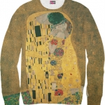 Pre-Order เสื้อยืดพิมพ์ลาย MR.GUGU & Miss GO : Kiss sweater