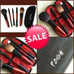 **พร้อมส่ง+ลด30%** Posh 5 Piece Mini Brush Kit w/Zip Purse