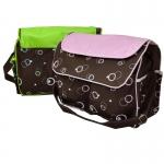 กระเป๋าคุณแม่อเนกประสงค์ 2 สี เขียวและชมพู
