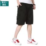 Pre-order กางเกงขาสั้น กางเกงลำลองฤดูร้อน แฟชั่นกางเกงขาสั้นสำหรับหนุ่ม ๆ สีดำ