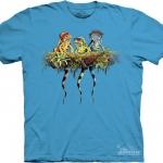 Pre.เสื้อยืดพิมพ์ลาย3D The Mountain T-shirt : Rasta Iguanas