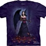 Pre.เสื้อยืดพิมพ์ลาย3D The Mountain T-shirt : Dark Cupid MD